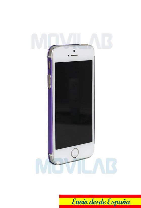 Funda aluminio fino Apple Iphone 5 conectores