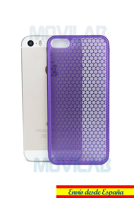 Funda fina metal Apple Iphone 5 par