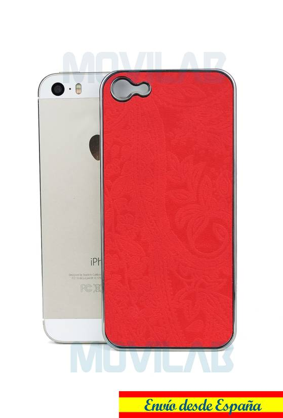 Funda tapizado Apple Iphone 5 par