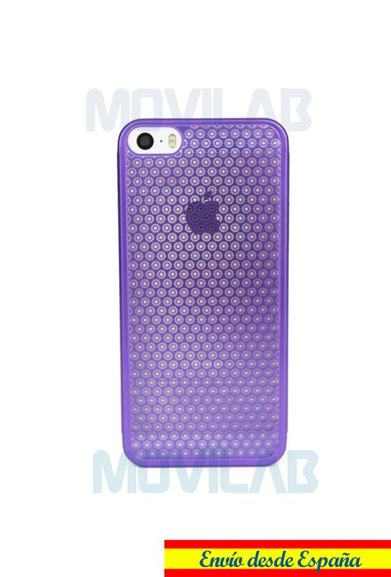 Funda fina aluminio Apple Iphone 5 trasera