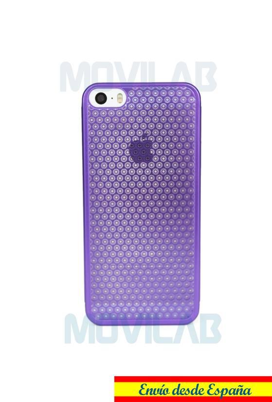 Funda fina aluminio Apple Iphone 5 trasera