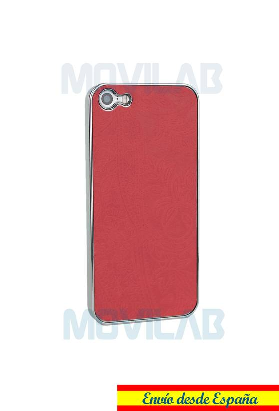 Funda tapizado Apple Iphone 5 trasera