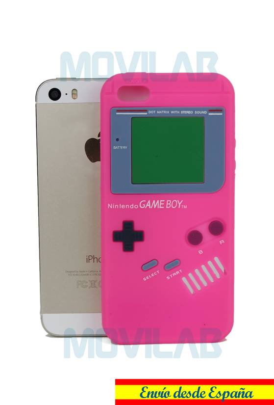 Funda silicona Apple Iphone 5 Game boy