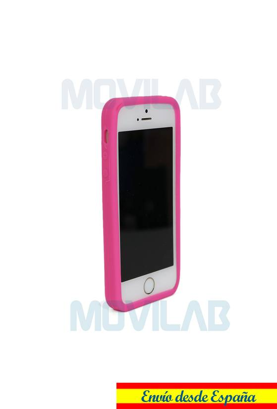 Funda carcasa Apple Iphone 5 silicona  frontal