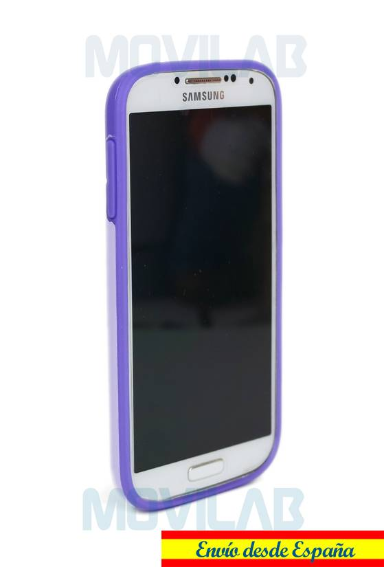 Funda gel Samsung S4  frontal