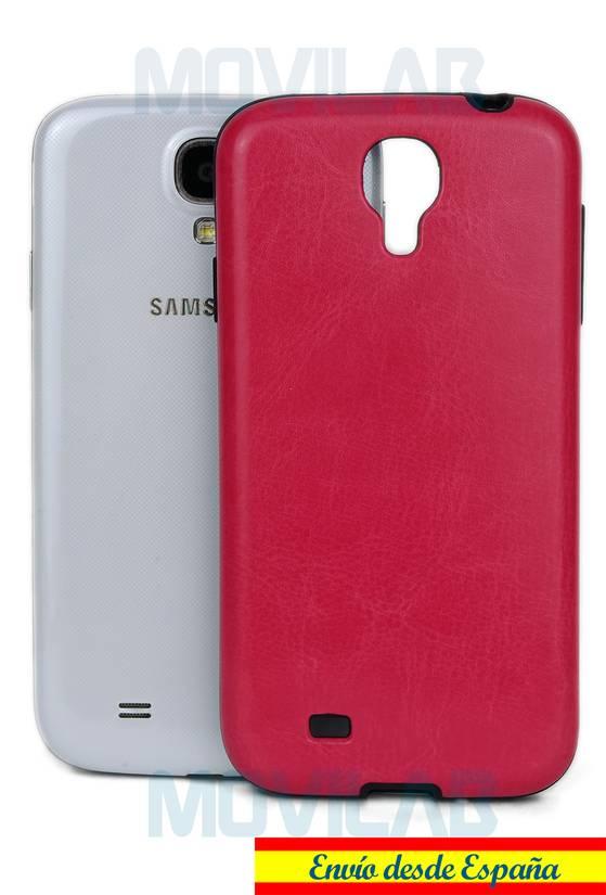 Funda semi Galaxy S4 piel