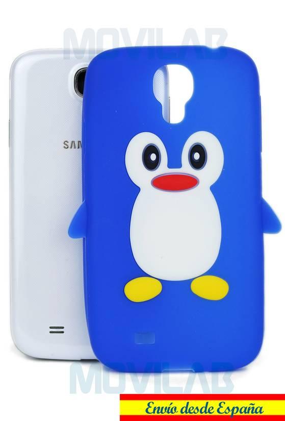 Funda silicona 3D Samsung Galaxy S4