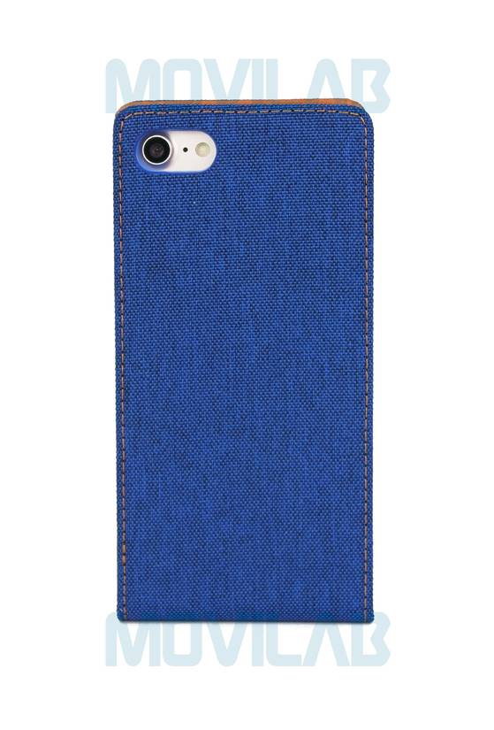 Funda tapa vertical Apple Iphone 7 Jeans trasera