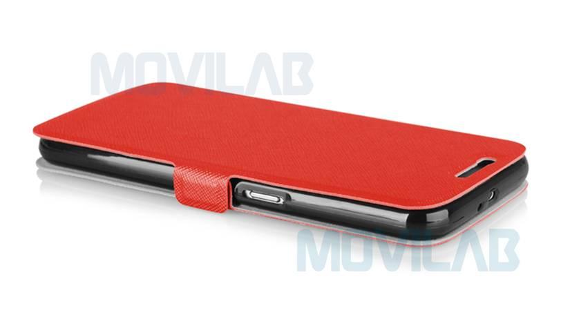 Funda flip Samsung Galaxy S6 lateral