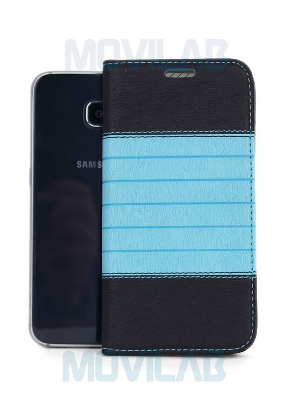 Funda tapa libro Samsung S6 frontal