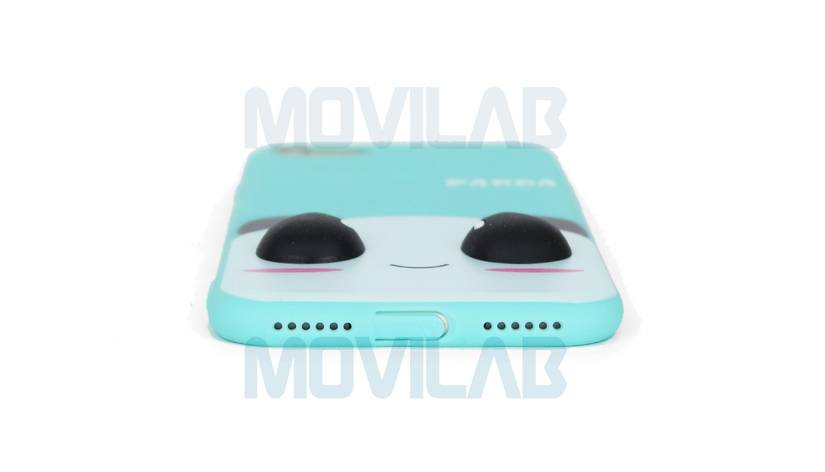 Funda carcasa Apple Iphone 6 panda conectores