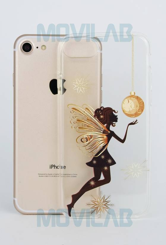 Funda semi Apple Iphone 7 trasera