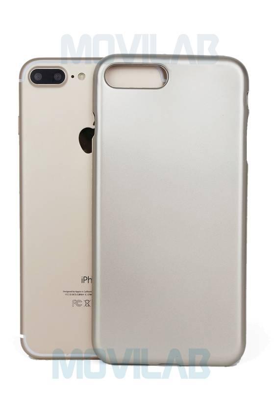 Funda gel Apple Iphone 7 Plus trasera