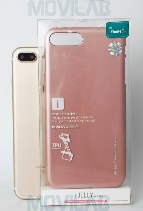 Funda gel Mercury Apple Iphone 7 Plus caja