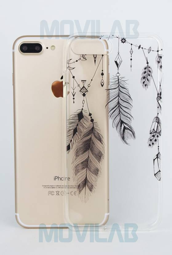 Funda semi Apple Iphone 7 Plus deco