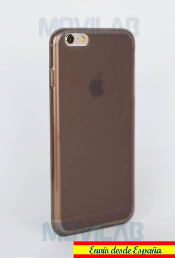 Funda carcasa Apple Iphone 6+ semitransparente lateral