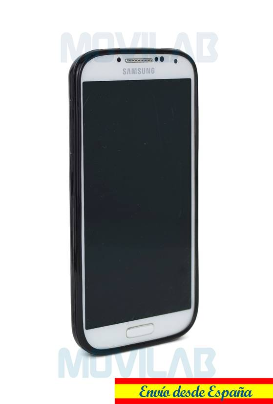 Funda gel Samsung I9505 S4 frontal
