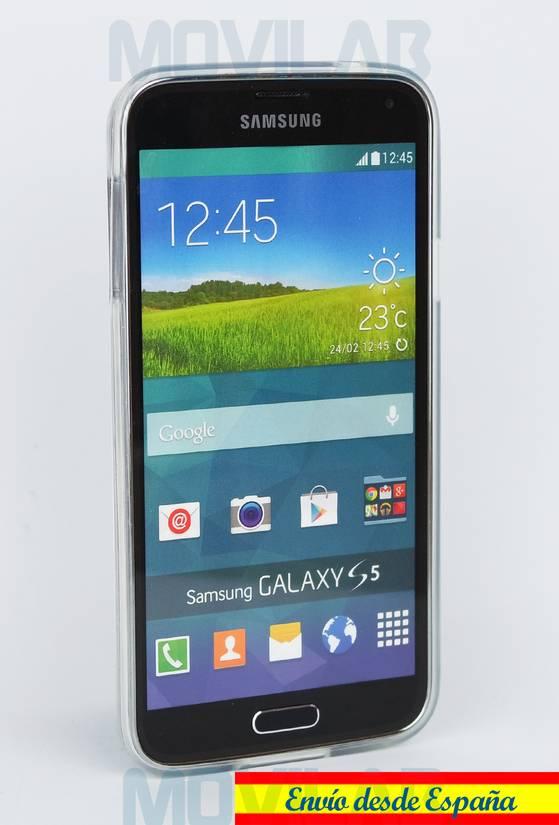Funda carcasa gel Samsung S5 frontal Gorjuss