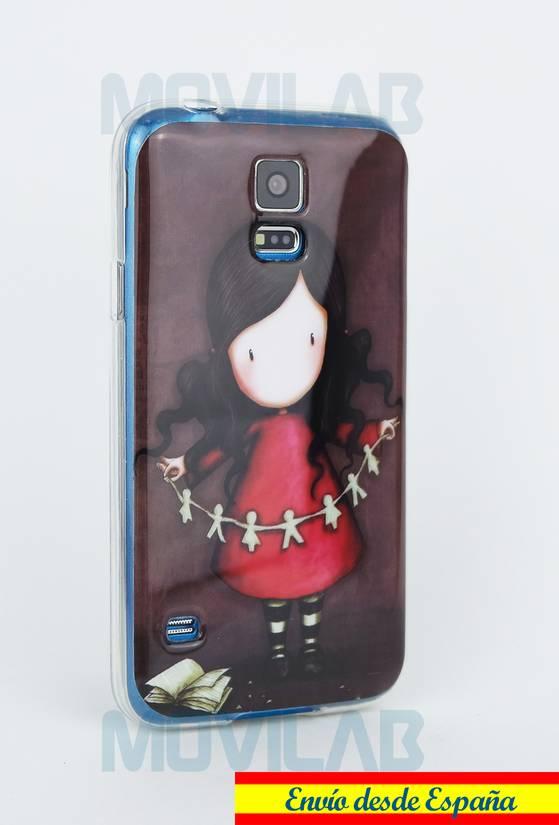 Funda semi Galaxy S5 Gorjuss