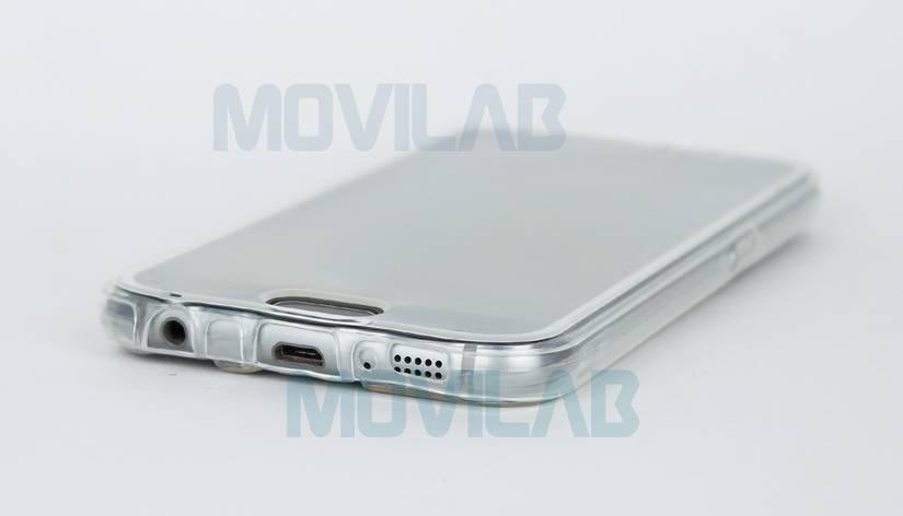 Funda semi 360 Galaxy S6 conectores