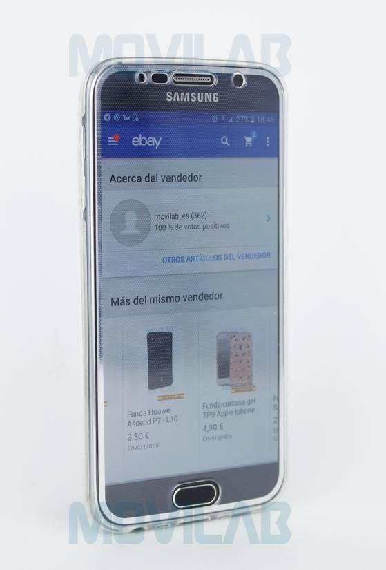 Funda semi 360 Galaxy S6 frontal