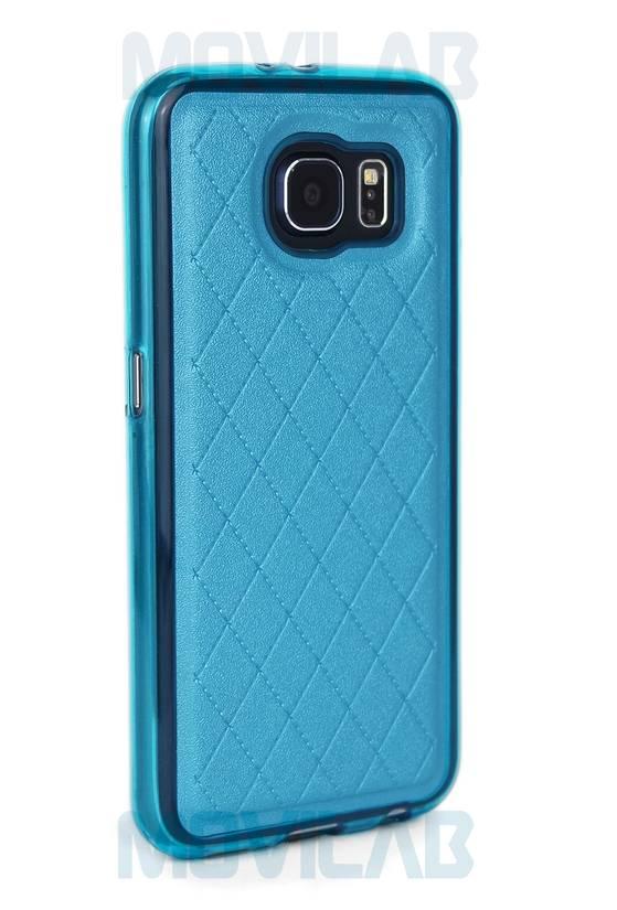 Funda gel Galaxy S6 piel trasera