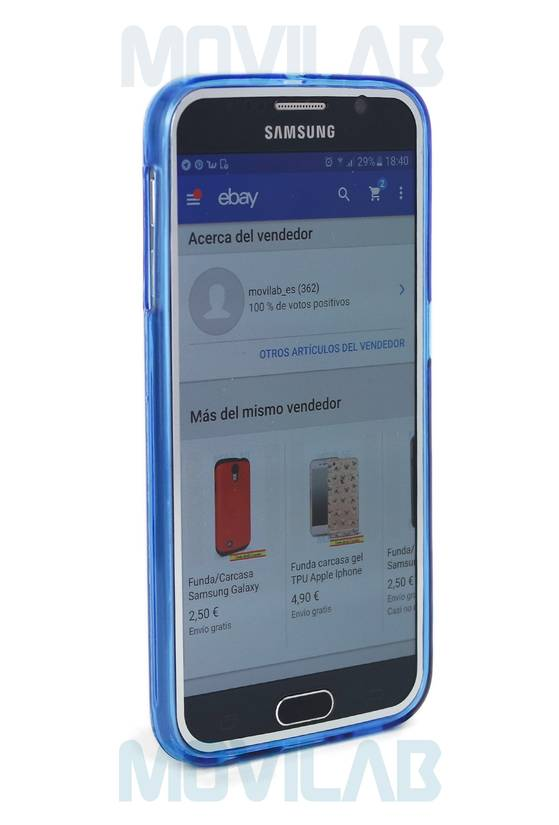 Funda gel Galaxy S6 frontal