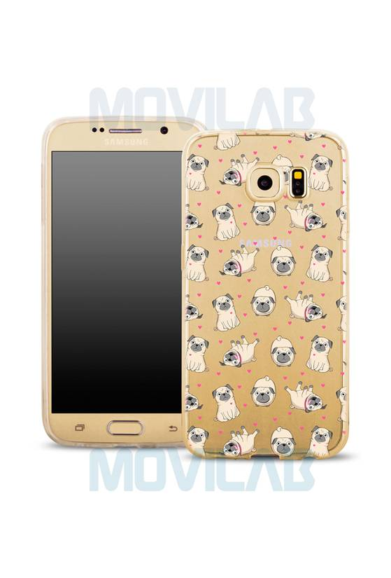 Funda semi Galaxy S6 deco