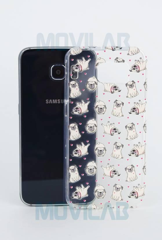 Funda semi Samsung Galaxy S6 trasera