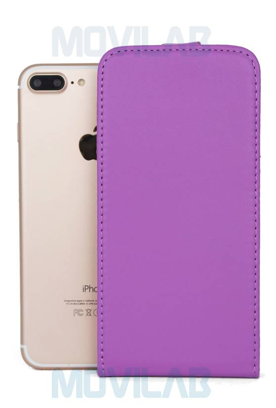 Funda tapa vertical Apple Iphone 7 Plus frontal