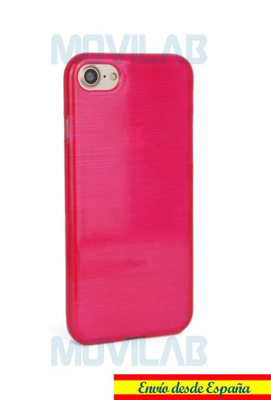 Funda gel Apple Iphone 7 trasera