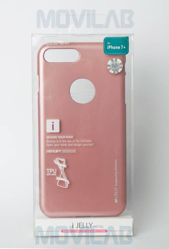 Funda gel Mercury Apple Iphone 7 Plus caja