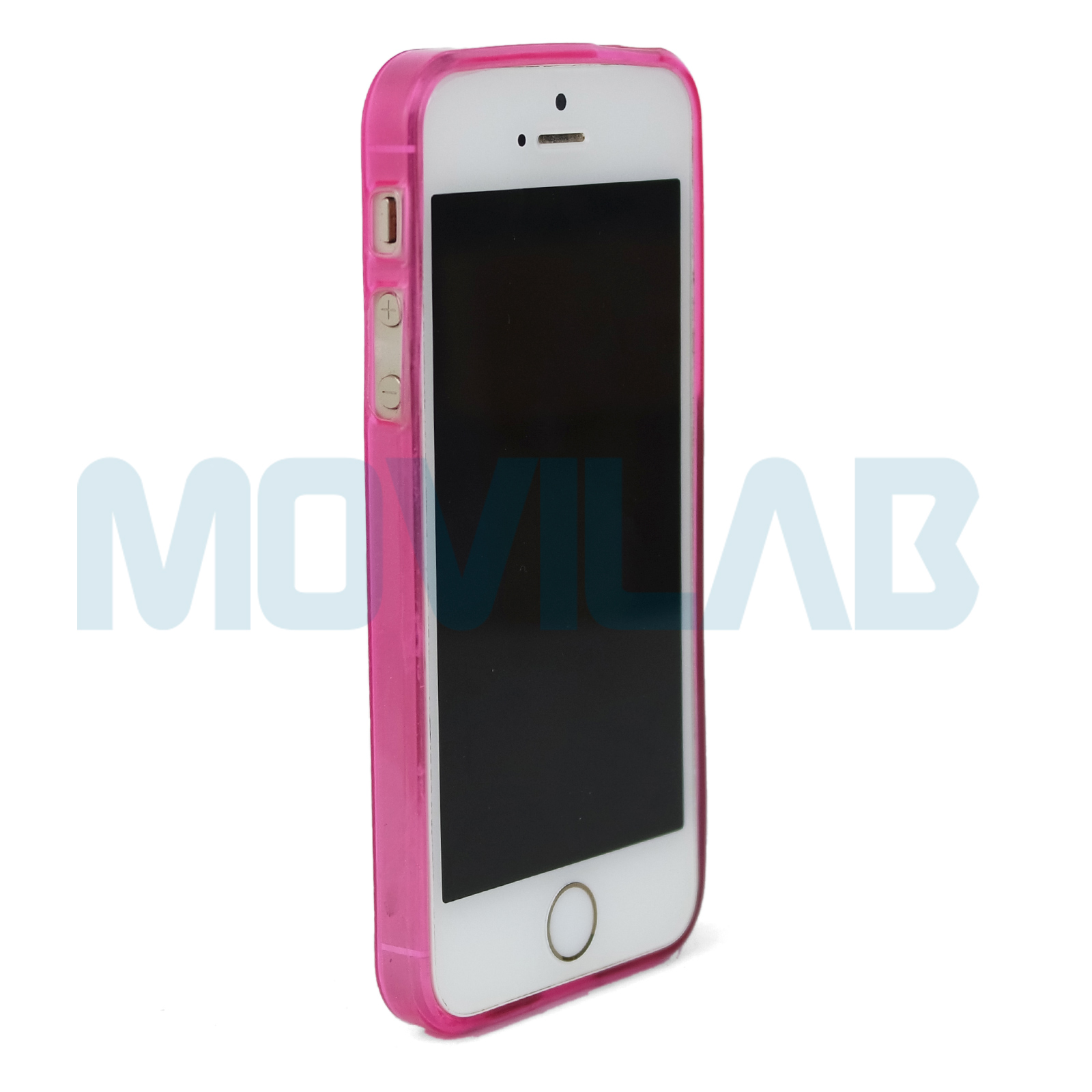 Funda Iphone 5 rosa frontal