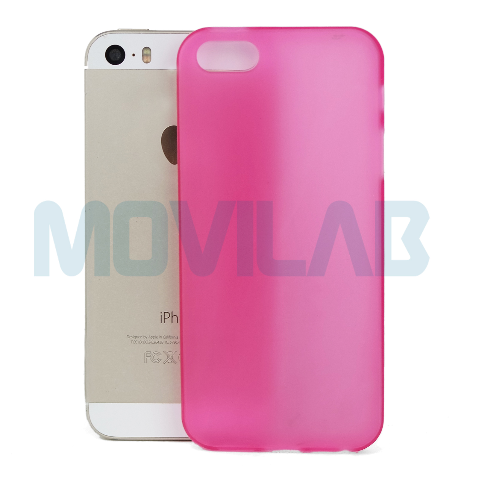 Funda Iphone 5 Rosa / Fucsia