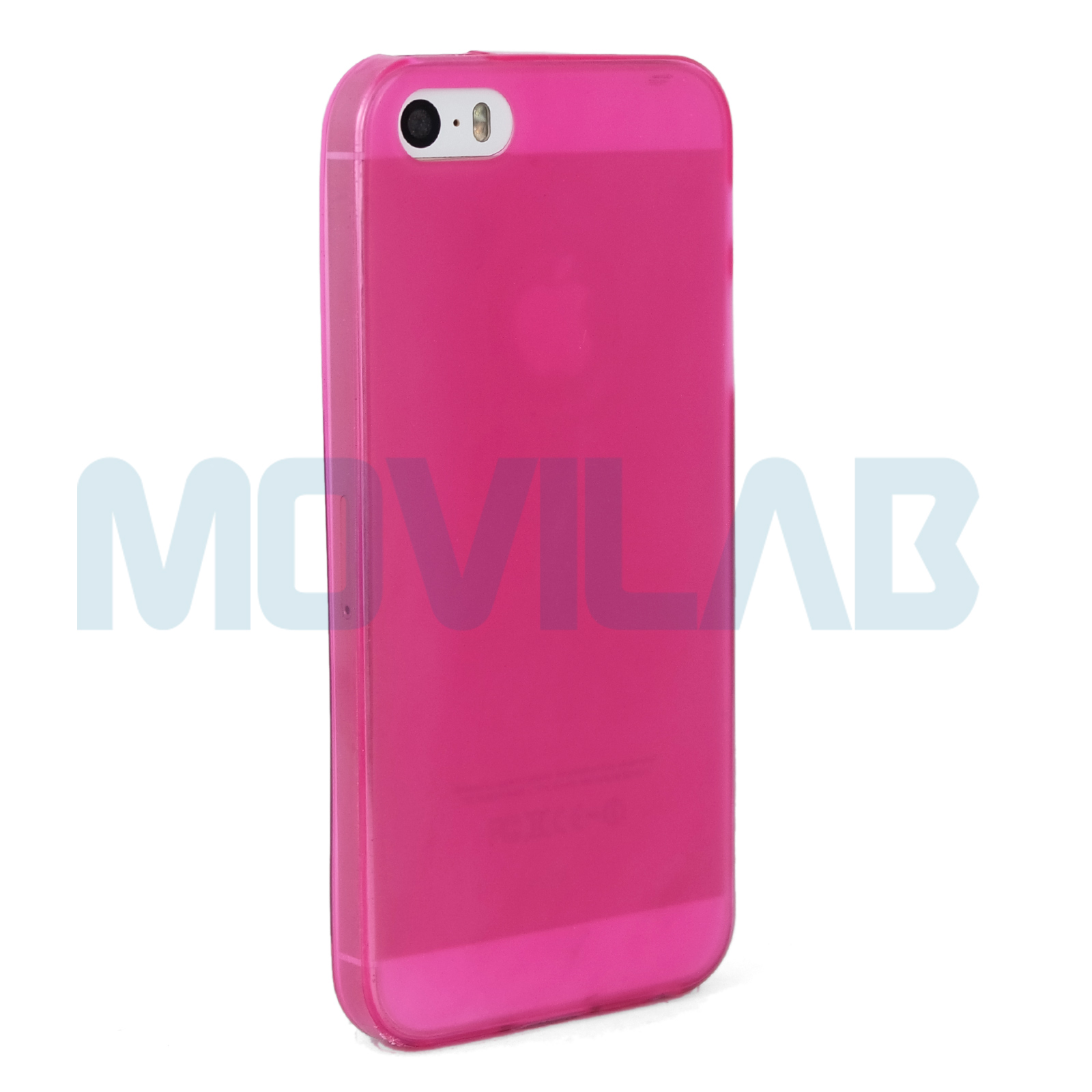Funda Iphone 5 rosa lateral