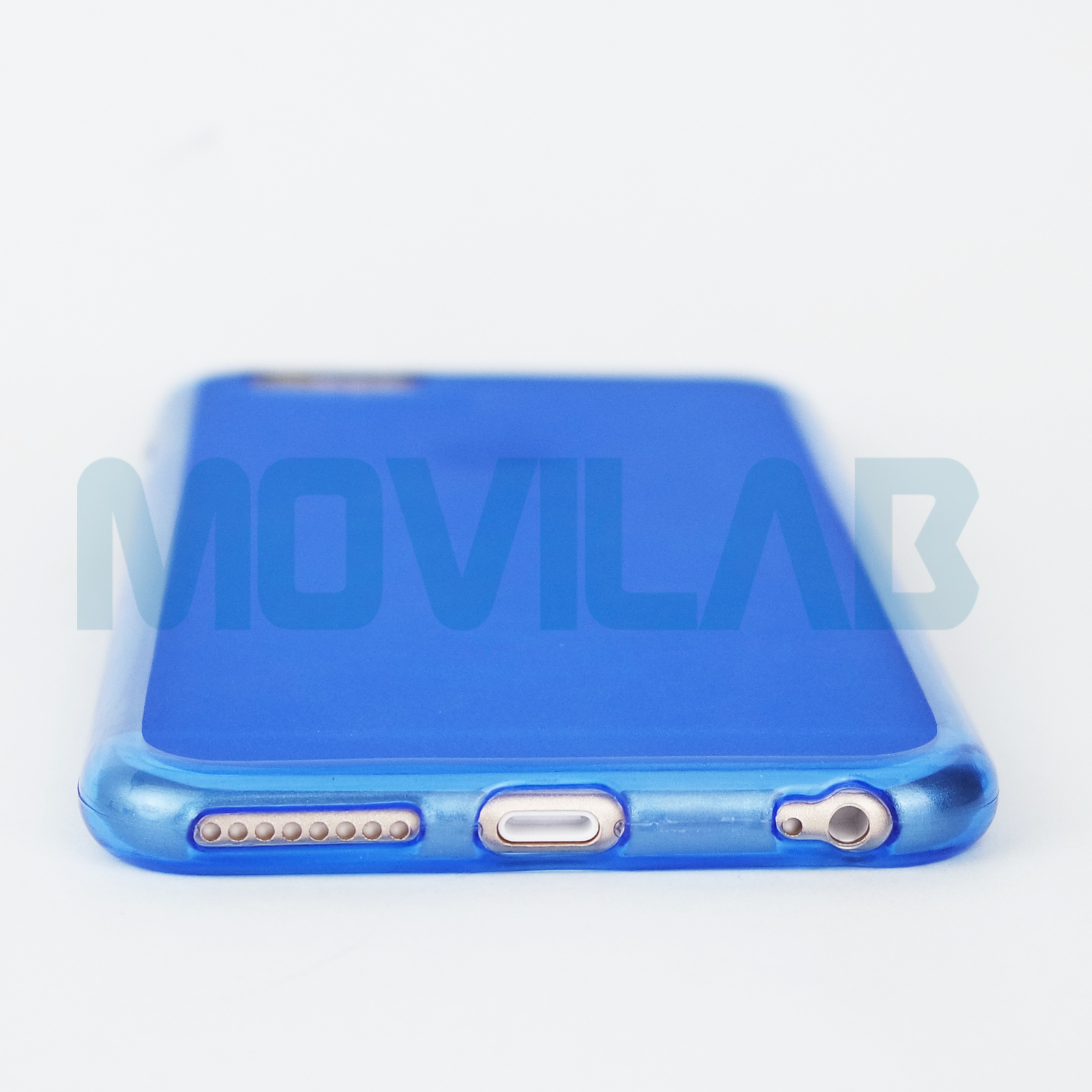Funda Iphone 6 Plus azul conectores