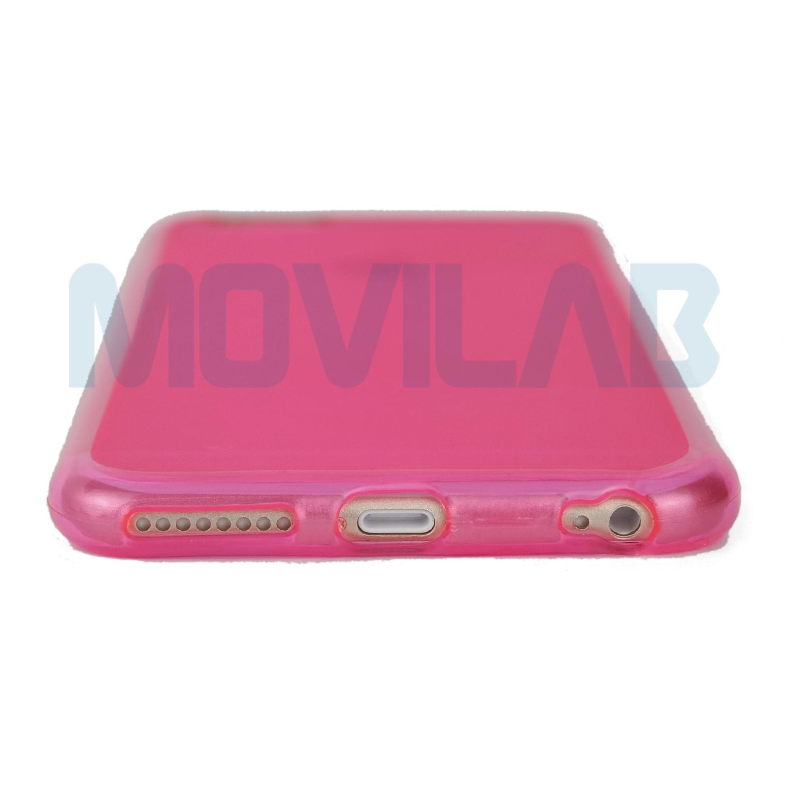 Funda Iphone 6 Plus azul conectores