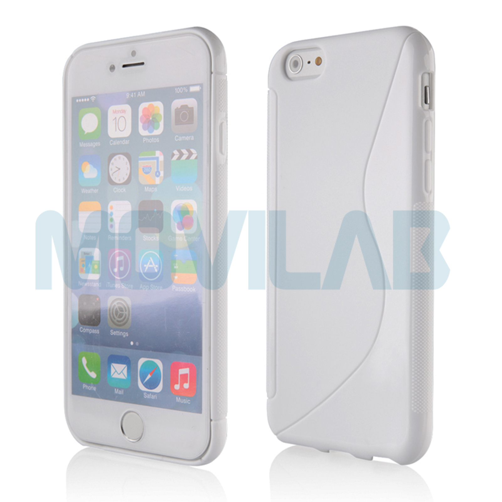 Funda Iphone 6+ / 6S+ blanca