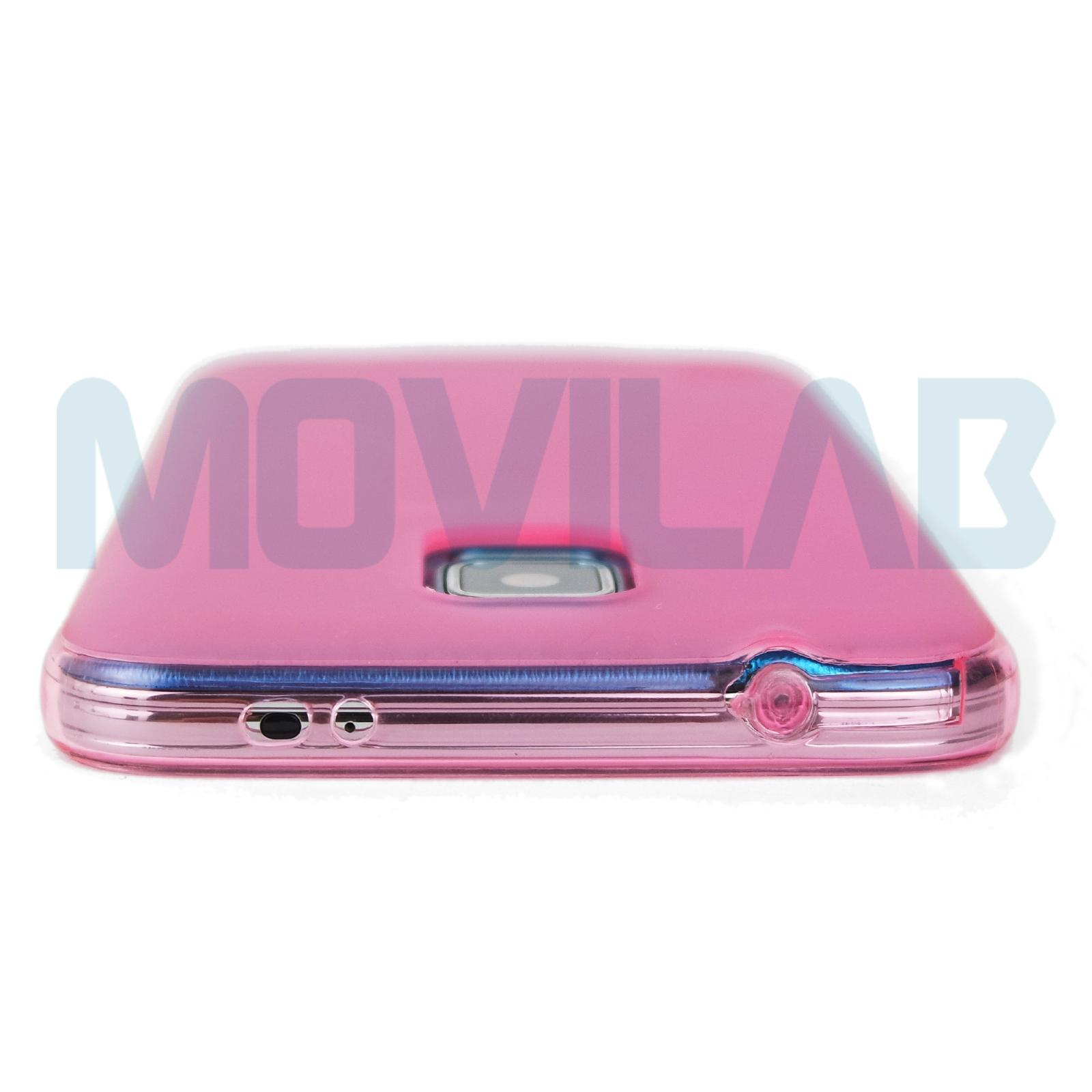Funda Galaxy S5 rosa conectores