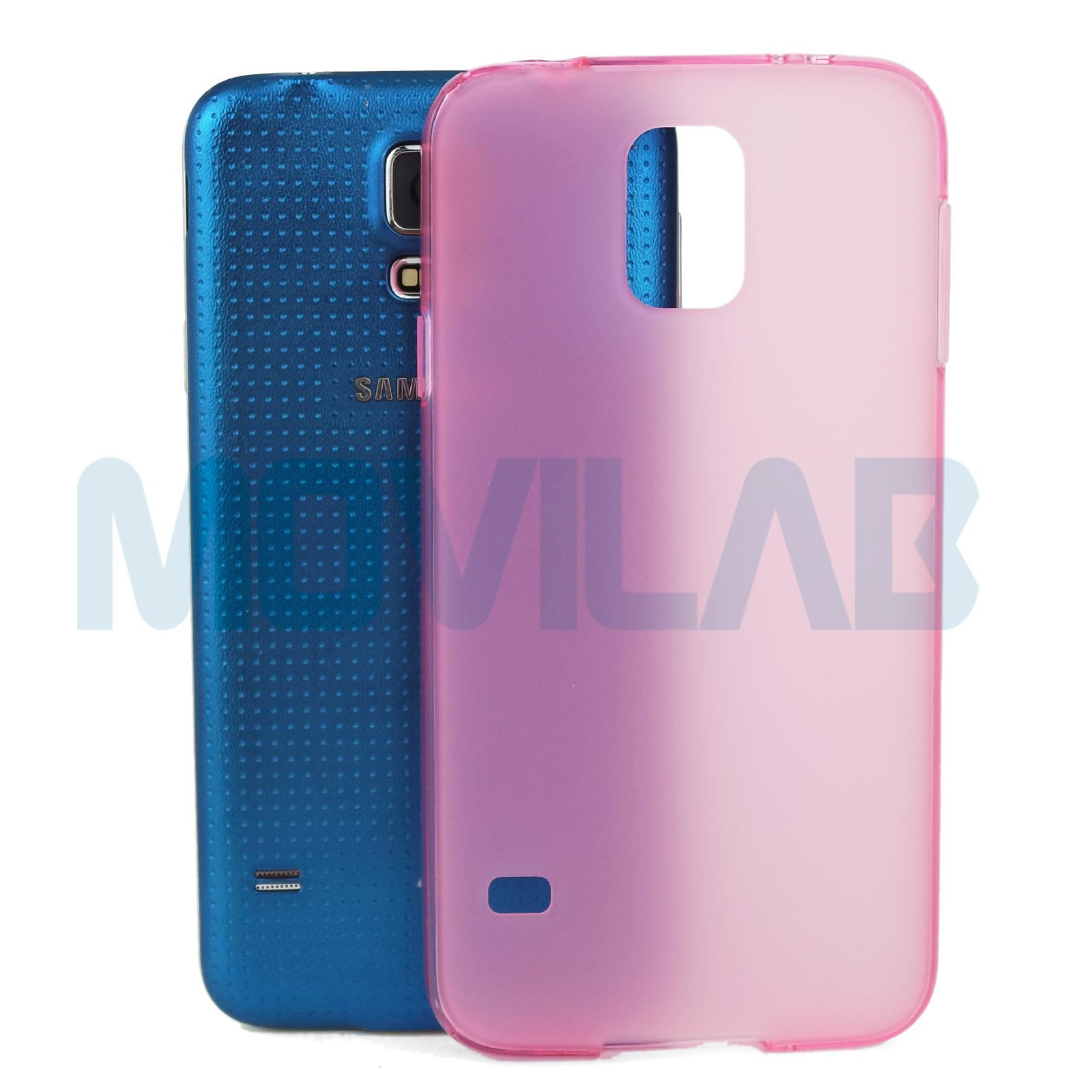 Funda Galaxy S5 trasera Rosa