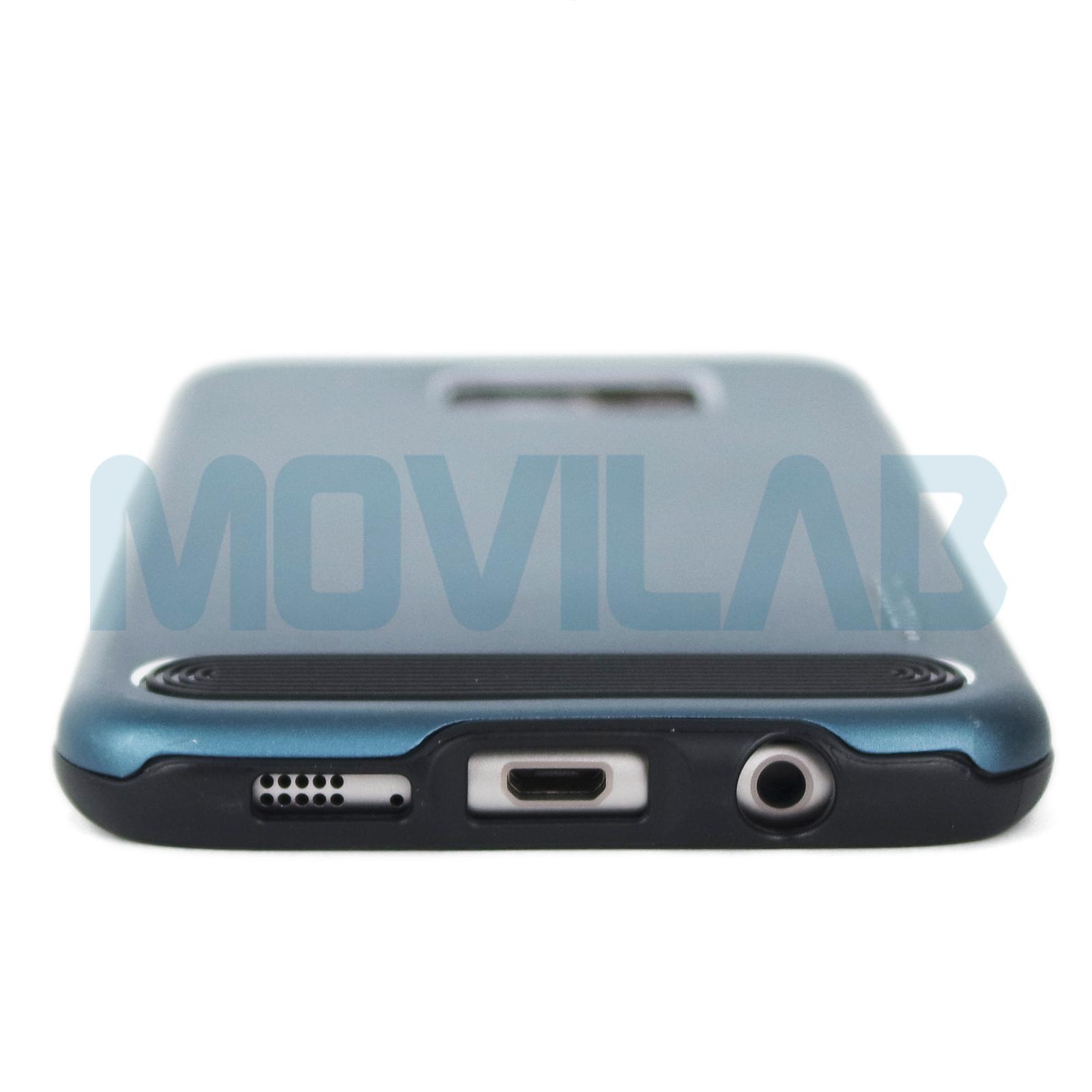 Funda alumino Motomo Samsung Galaxy S7 Edge conectores