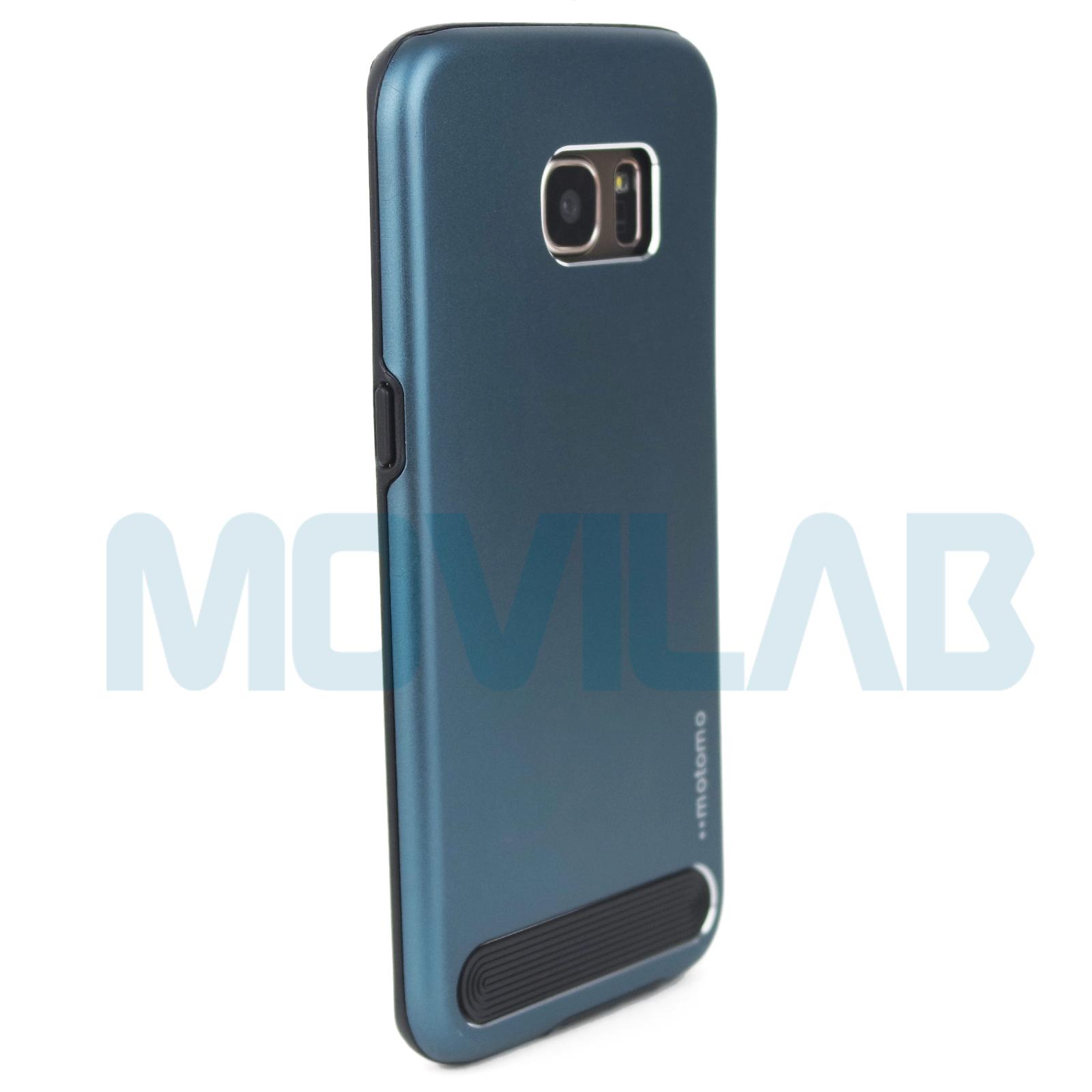 Funda aluminio Motomo Galaxy S7 Edge  trasera