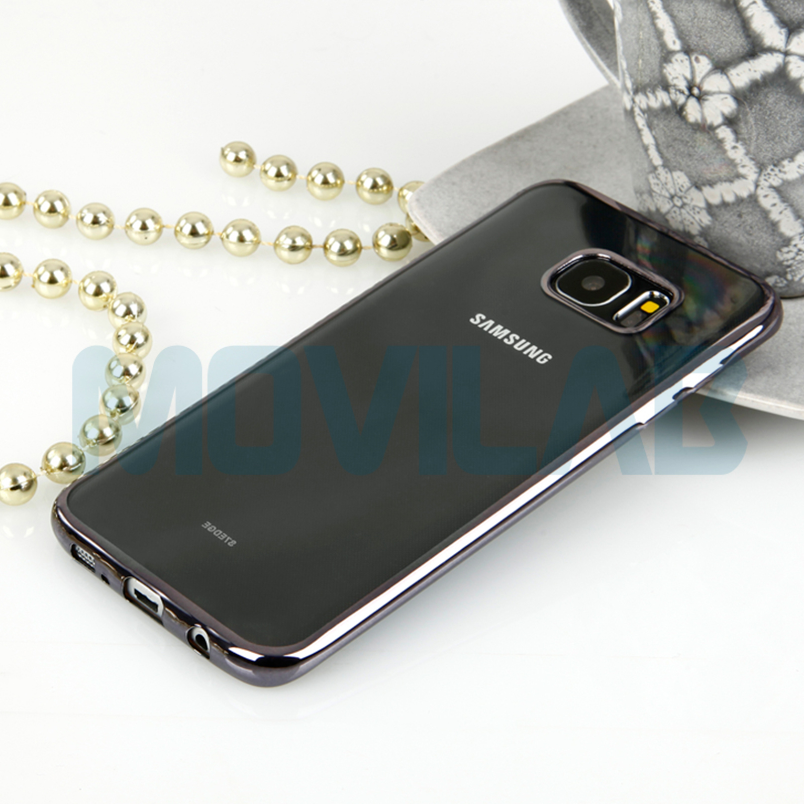 Funda Galaxy S7 Edge cromada