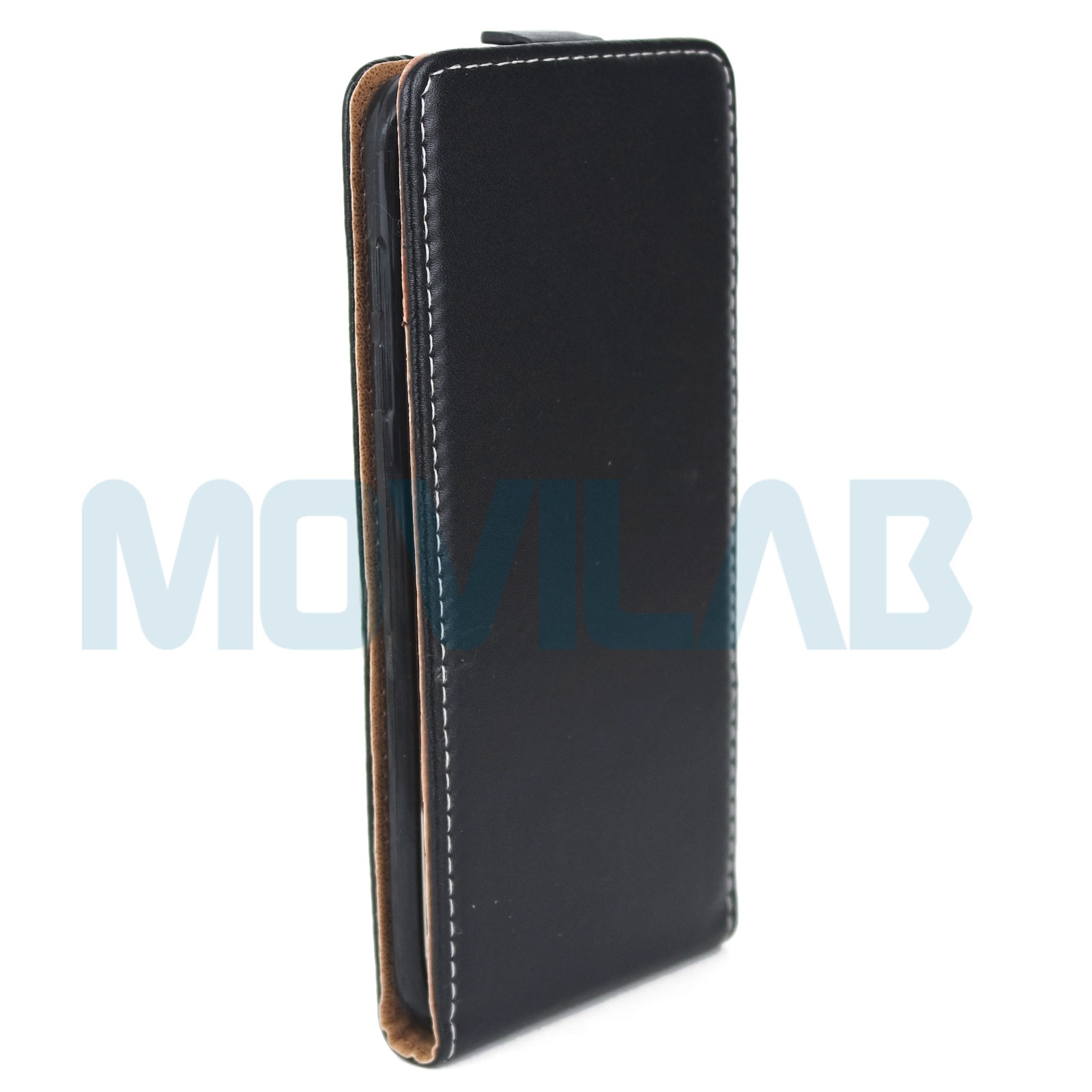 Funda tapa vertical Samsung Galaxy S7 Edge delantera