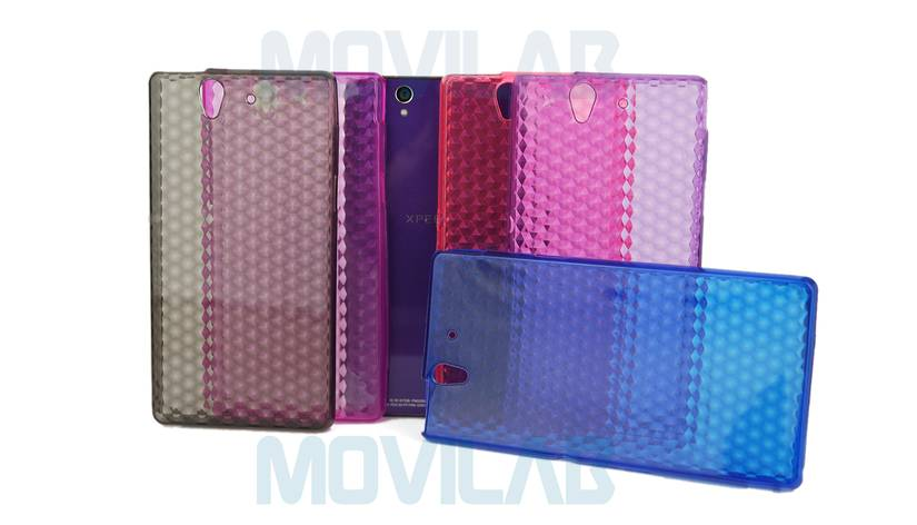 Funda gel Xperia Z colores