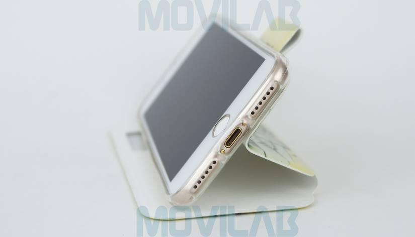 Funda Flip Iphone 7 conectores