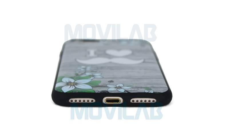 Funda carcasa Apple Iphone 7 conectores