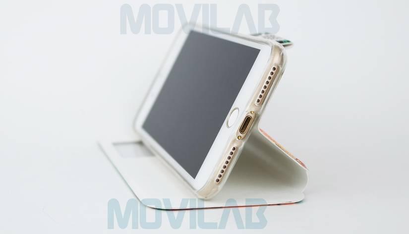 Funda Flip Iphone 7 Plus conectores
