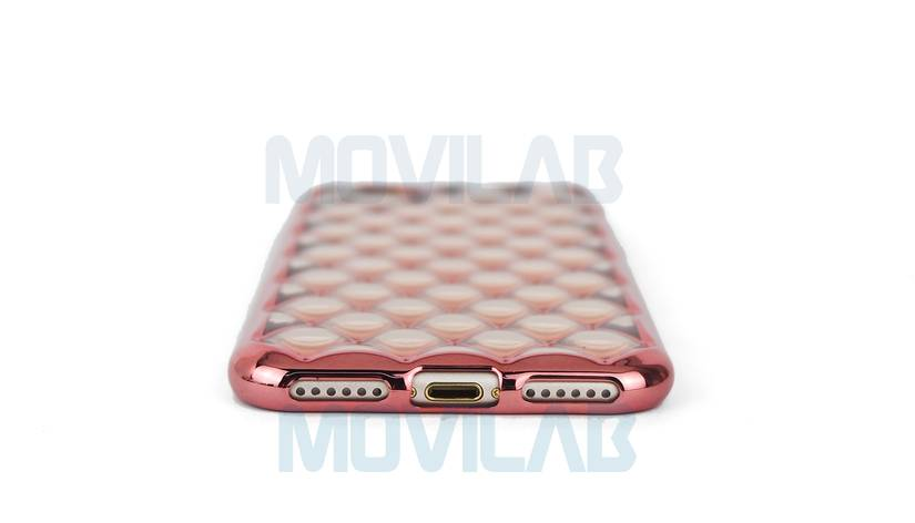 Funda carcasa Apple Iphone 7 luxury conectores