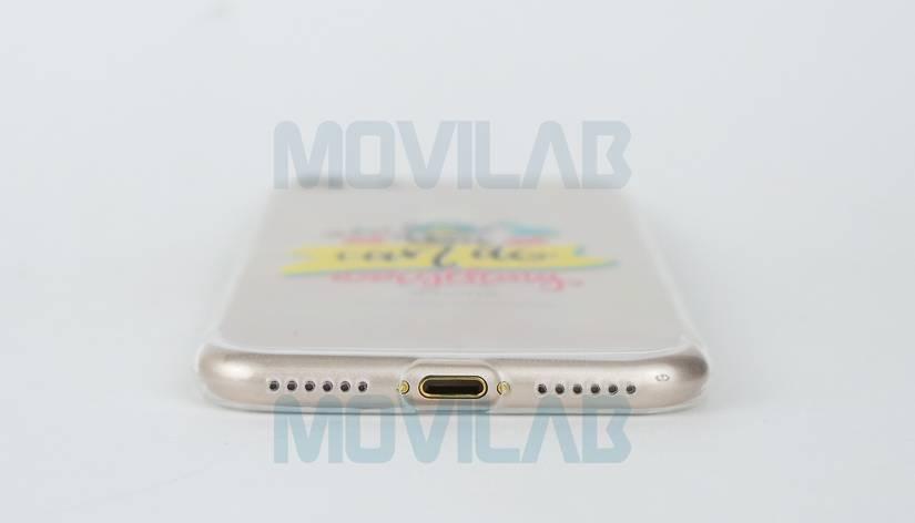 Funda gel Slim Iphone 7 conectores